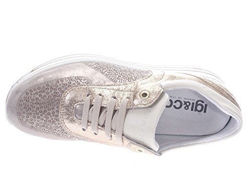 Capra 11556 Taupe IGI DKY Nuv Sneaker Sneaker PERL Donna 1155611 CO xqqCBwv0