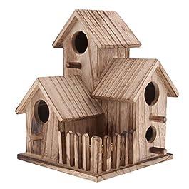 Sharplace Casa Uccelli Birdhouse Nido Scatola Arredamento Giardino Legno – 2