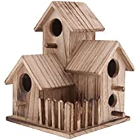 Sharplace Miniatura de Casa de Pájaros Nido de Madera Herramientas de Jardinería Decoración ...