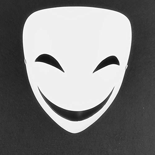 Kostüm Weibliche Räuber - ZYHA Halloween Clown Maske,Kleid Horror Maske,Boutique Harz Maske,Schild Spielzeug,dunkle Räuber,Horror Täuschung,tragbarer Komfort