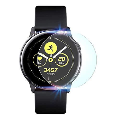 2Pack explosionsgeschützte TPU Displayschutzfolie für Samsung Galaxy Watch Active Samsung Samsung Galaxy Watch aktive TPU explosionsgeschützte Membran (2 Stück) - Klare Membran