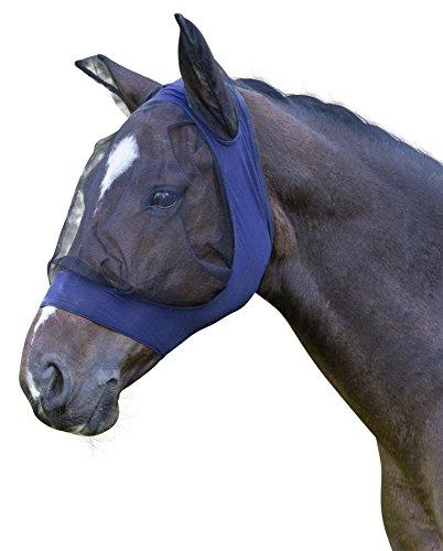 Kerbl 325840 Fliegenschutzmaske Fino Strech VB, blau