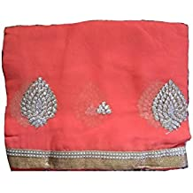 Polyester Saree With blouse piece