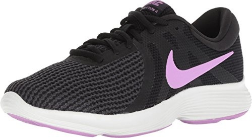 Nike Men's WMNS Revolution 4 Black Running Shoes-6 UK/India(40EU) (908999-011)