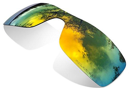 sunglasses restorer Kompatibel Ersatzgläser für Oakley Batwolf, Polarisierte Fire Linsen