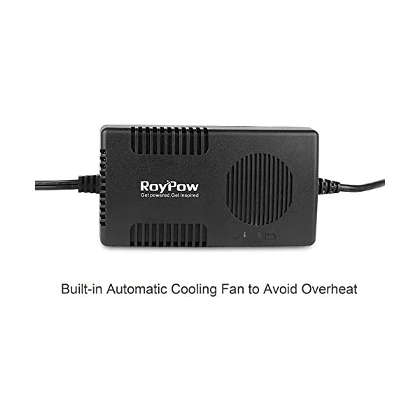 RoyPow Voltage Converter AC 240V to DC 12V 10A Power Adapter 120W (Max 150W) Car Cigarette Lighter Socket Transformer…