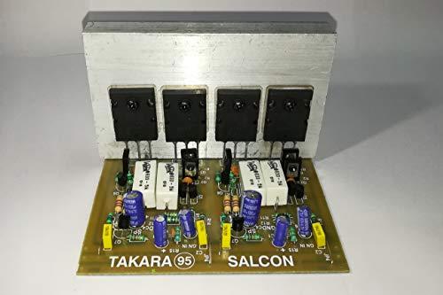Salcon Electronics HiFi Mosfet Power Amplifier Stereo Mono Bridge Audio Kit Board, Toshiba Japan 5200 1943
