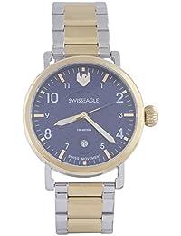 Swiss Eagle Analog Blue Dial Men Watch- SE-9121-44
