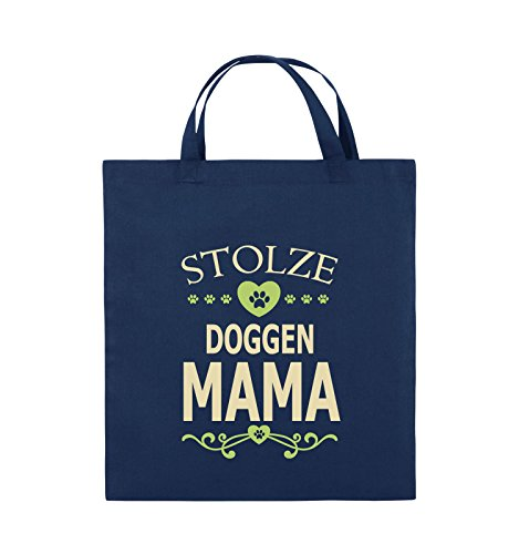 Farbe HERZ Doggen kurze Schwarz 38x42cm Hellgrün Neongrün Mama Comedy Bags Weiss Stolze Jutebeutel Henkel Navy Beige EqfWwWzIgx