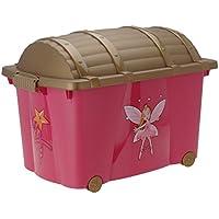 Spielzeugkiste (Multibox) mit Rollen für Jungen und Mädchen preisvergleich bei kinderzimmerdekopreise.eu