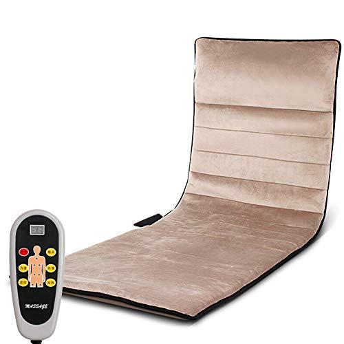 Ganzkörpermassage-Matratze mit beruhigender Wärmetherapie-Multi-Motor-Elektro-Infrarot-Heizung ältere Hausdruck-Massagetasche Massage-Pad