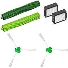 Accesorios del kit de reemplazo de Roomba, repuestos de filtro, cepillo de rodillo de