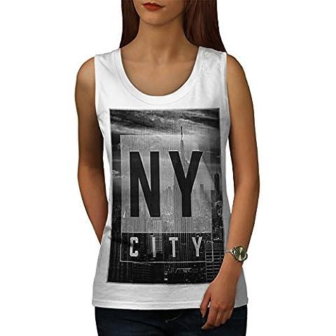 NY Stadt Entwurf Mode Neu York Damen S Muskelshirt | Wellcoda