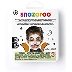 Snazaroo - Vampiro Pintura facial, color negro, blanco, rojo, única (1172086)