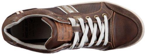 Mustang Mustang Herren Schnürer - Sneaker, , taglia Marrone (Braun (braun 32))