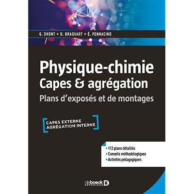 Physique-chimie Capes & agrégation