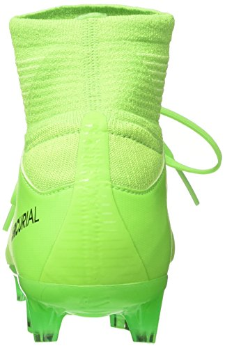 Nike Jr Mercurial Superfly V Fg, Scarpe da Calcio Unisex – Bambini Verde (Electric Green/flash Lime/white/black)