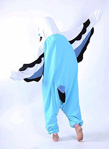 Honeystore Wellensittich Onesie Jumpsuits Papagei Schlafanzug - 2