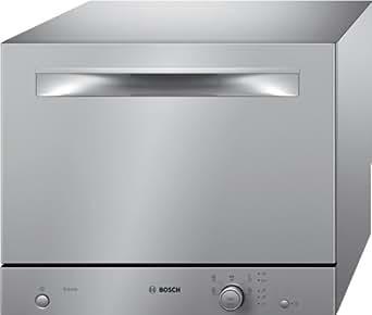 Bosch SKS51E18EU Comptoir 6places A+ lave-vaisselle - lave-vaisselles (Comptoir, Acier inoxydable, Acier inoxydable, boutons, Rotatif, 1,7 m, 1,5 m)