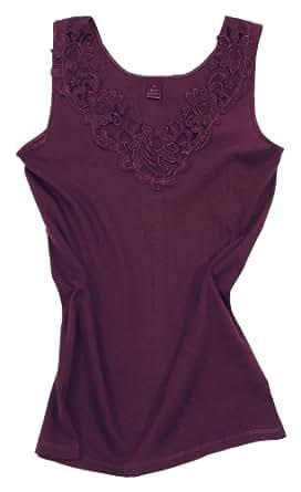 VCA Damen Shirt, Unterhemd mit extra großer Spitze