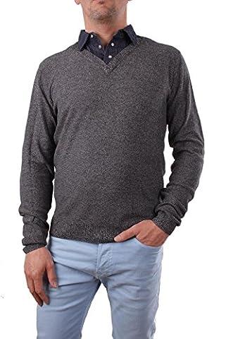 Diesel Herren K-PAXILLUS PULLOVER Langarm Shirt Hemdkragen (XXL, Schwarz)
