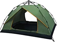 Charhoden SQ-080-L Single Layer Tent Camping Tent Outdoor Automatic Tent Waterproof / Rain-Proof for Camping G