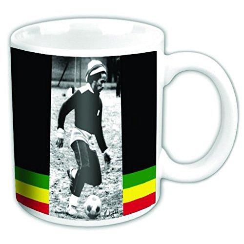 empireposter - Marley, Bob - Soccer - Größe (cm), ca. Ø8,5 H9,5 - Lizenz Tassen, NEU - Bob Marley Boxed Mug: Soccer - Beschreibung: - Keramik Tasse, bedruckt, Fassungsvermögen 320 ml, offiziell lizenziert, spülmaschinen- und mikrowellenfest -