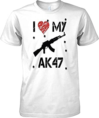 I Love My AK47 - Gamer Inspired Arcade Shooter - Kids T Shirt