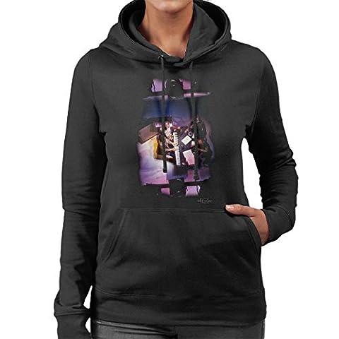 Abba Piano Women's Hooded Sweatshirt