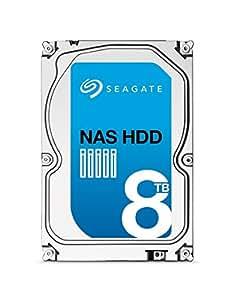 """Seagate ST8000VN0002 Disque dur interne 3,5"""" 8 To SATA Noir"""