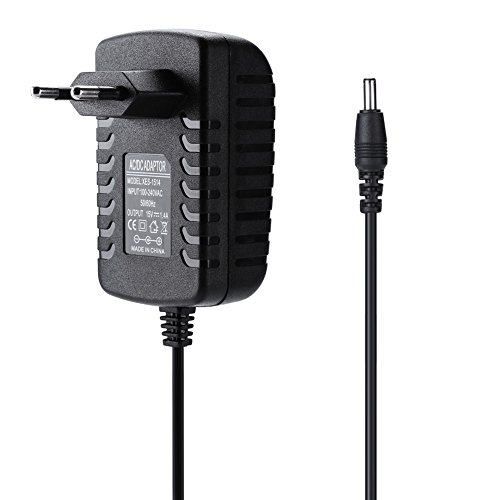 6.7FT cable 21W 15V 1.4A cargador de adaptador de fuente de alimentación AC / DC para Amazon Echo / Fire TV(Black)
