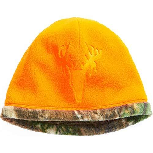 Hot Shot Herren Reversible Camo Fleece Beanie - Blaze/Realtree Edge Outdoor Jagd Camouflage (Shot Fleece Hot)