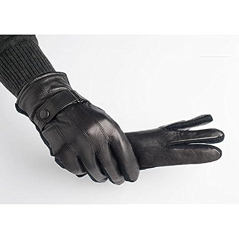 Gli uomini tenere caldi Plus Velvet guanti guanti in pile . 1