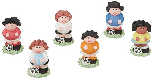 Günthart 24 Zucker Fußballer in 3D | verschiedenen Farben | 1er Pack (1 x 210 g)