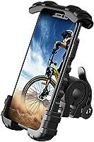 Lamicall Support Téléphone de Vélo, Support Téléphone de Moto - Support Guidonavec 360° Rotation pour Phone 11 Pro, XS...