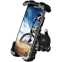 Lamicall Handyhalterung Fahrrad, Handyhalter Motorrad - Edelstahl Universal 360 Grad Drehung Outdoor Fahrrad Halter für Phone 11 Pro Max, Xs Max, XR, X, 8, 7, 6S, Samsung S10 S9 S8, andere Smartphones