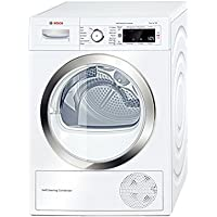 Bosch WTW87560GB 9kg Heat Pump Condenser Tumble Dryer (White)