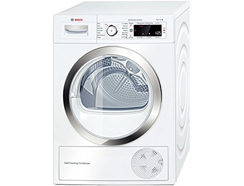 Bosch WTW87560GB 9kg A++ Freestanding Heat Pump Condenser Tumble Dryer - White