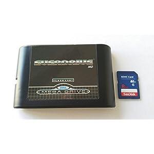 Everdrive Sega Megadrive Md Genesis Flash Cart Mega Drive + 8 Gb Sd-Karte