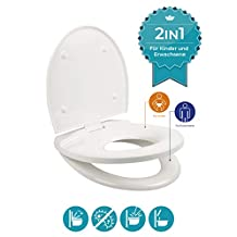 Calmwaters 26LP5660 Piperi toiletdeksel, wit - wc-bril Family