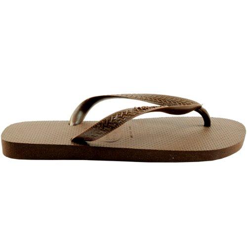 Herren Sandalen Havaianas Brasil Top Flip Flop Sandals Dunkelbraun