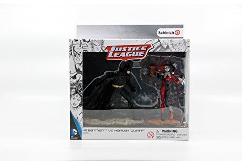 Schleich - Justice League, Batman vs Harley Quinn