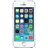 "Apple iPhone 5S - Smartphone libre iOS (pantalla 4"", cámara 8 Mp, 16 GB, Dual-Core 1.3 GHz, 1 GB RAM), Plateado (Reacondicionado Certificado)"