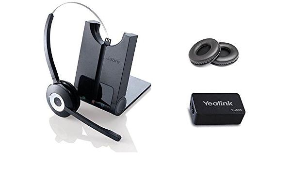 Yealink Bluetooth Headset Für Yealink Sip Telefone T48g T46g T42g T41p T38g T28p T26p Inkl Yeaklink Wireless Headset Adapter Jabra Pro 920 Ehs Bundle Bürobedarf Schreibwaren