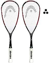 HEAD Nano Ti 110 Squashschläger (Verschiedene Optionen)