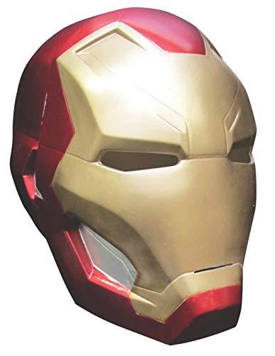 Morris Costumes Maschera Iron Man Deluxe per Adulti
