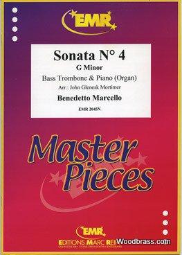 MARC REIFT MARCELLO BENEDETTO - SONATA N°4 IN G MINOR - BASS TROMBONE & PIANO Klassische Noten Posaune