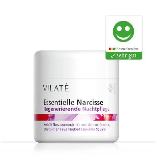 Vilate Narcisse glättende Nachtcreme – Für die Haut ab 30, wirkt sofort gegen die ersten und...