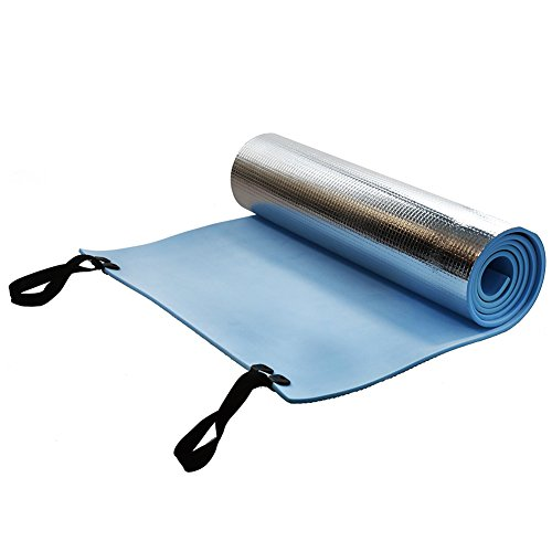 SYN, Tappetino da Yoga in Schiuma Eva, per Campeggio, Escursionismo, Yoga, Pilates, Palestra, Esercizi, 180 x 50 x 0,6 cm