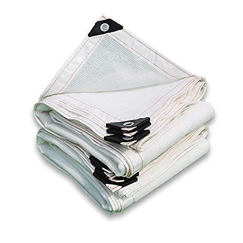 QUYUAN Sonnensegel-Sport Sun Shade Sail quadratisches wetterfestes wasserabweisendes Polyester, Größe: 3m x 3m, Farbe: weiß,4X5M (Erstellen Sie Eine Sales-team)